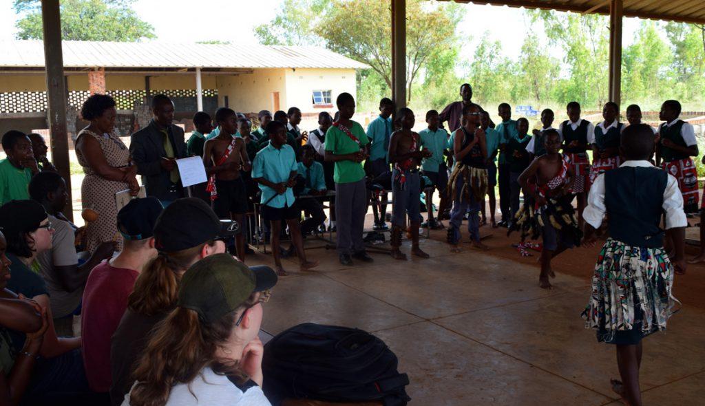 Tanzende aus Nkululeko