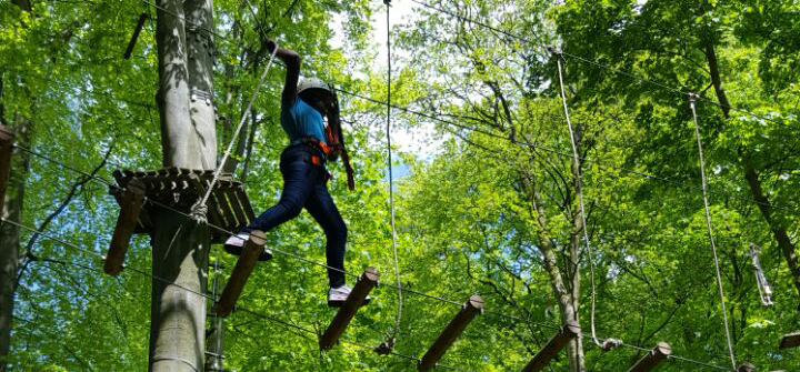 Abendteuer Kletterpark / Adventure Climbing Park