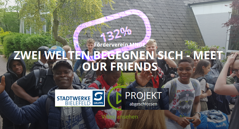 Crowdfunding: Mehr als erfolgreich abgeschlossen!