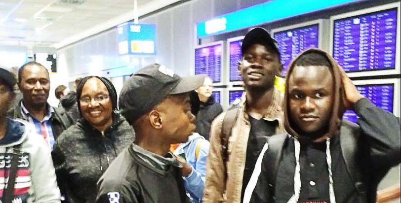 Nkululeko-Austausch 2019: Ankunft in Bielefeld mit musikalischem Empfang
