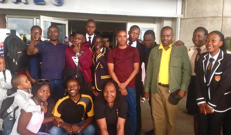 Gruppenphoto Nkululeko Austausch 2019